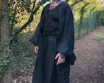 Faith Militant Game of Thrones black hessian robe