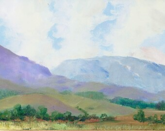 Original Landscape Oil Painting by RM Rees