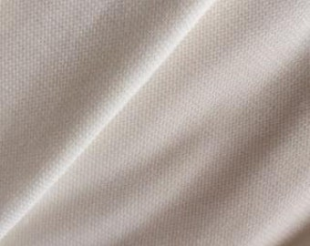 Bamboo Organic Cotton Spandex Ribbing WIDE 280 gsm - Natural (6006.24.00.00)