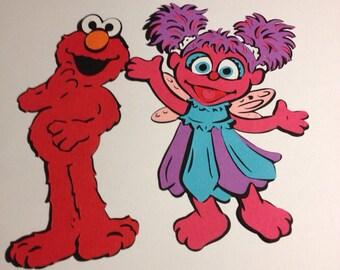 Elmo and Friends Die Cuts