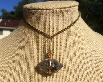 Black Tibetan Quartz Necklace
