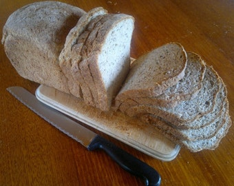 Buckwheat & Honey Bread (gluten free and dairy free)