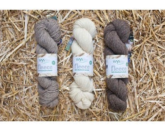 BFL ~ Bluefaced Leicester DK ~ West Yorkshire Spinners ~ British wool and British spun