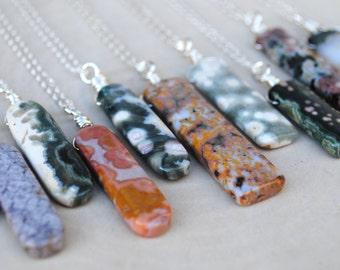 Ocean Jasper Necklace - Ocean Jasper Jewelry