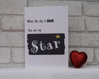 Handmade Thank You Card, Best Friend Card, Valentine's Day Card, Wife Card, Girlfriend Card, Boyfriend Card, Husband card, Partner