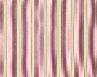 SALE! Cotton fabric, quilting cotton, 100% cotton fabric, purple, ivory stripes, Joel Dewberry, Bungalow Stripes- Lavender- 1  yard