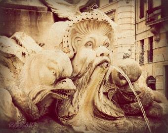 Rome photograph, fine art photo, travel photography, Rome print, vintage, Italy, Rome art - Roman Residents
