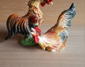 Vintage kitchen chickens/roosters  - PRICE INCLUDES SHIPPING