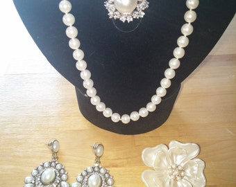 SALE Peal Jewelry Set, Free Shipping