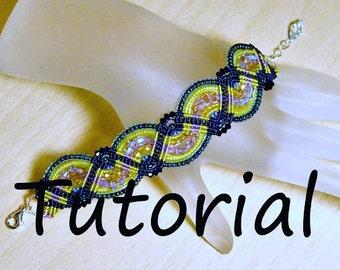 Micro Macrame Tutorial - Zig Zag Patttern - Beaded Macrame - Jewelry Making Tut - DIY