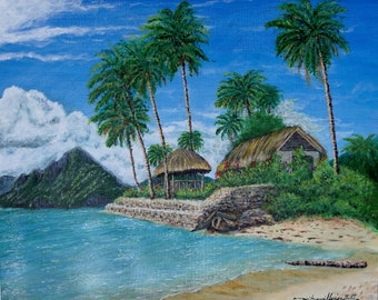 Tropical Paradise painting