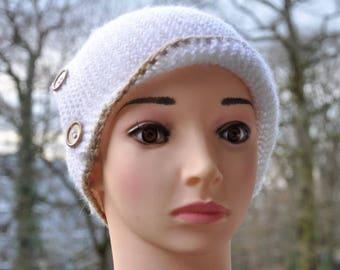 Robin Hood Hat, Womens Hat, Robin Hood Beanie, Hand Knit Hat, Knitted Hat, Robin Hood Knit Hat