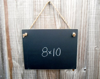 Chalkboard  - Hanging Frameless Blackboard -  Item 1480
