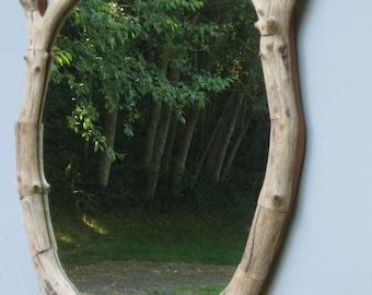 Madrona driftwood mirror