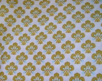 FABRIC cotton TILDA with flower patterns