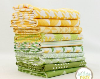Pineapple - Scrap Bag Quilt Fabric Strips by Mixed Designers