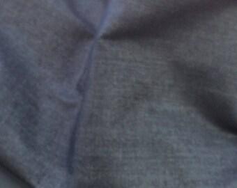 Fabric color black denim for creation
