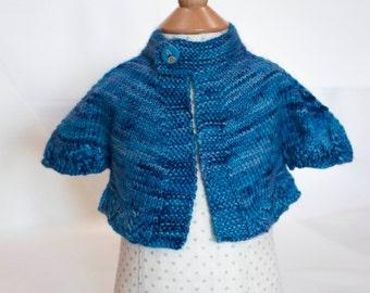PDF Knitting pattern, Oceanpotion baby jacket
