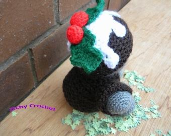 Inchoate Christmas Pudding Crochet Pattern
