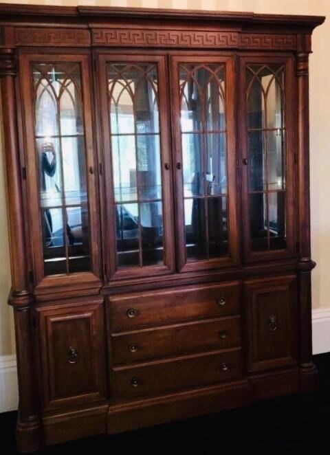 Stanley Furniture Display Cabinet