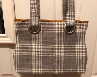 Fabric Purse Tote Bag