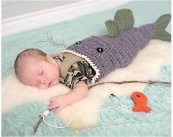 Large Mouth Bass Blanket Crochet Pattern - Crochet Pattern for Bass Fish - Large Mouth Bass Blanket Crochet PATTERN MJ's Off The Hook Design