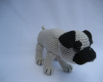 Crochet Pattern Amigurumi Pug Dog