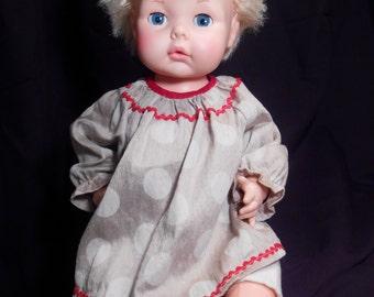 "EEGEE Doll Blonde Drink & Wet 16"""