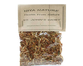30 gr./10 gr. Free St. John's Wort,  Protection, Strength, Dried Herb, Natural Herbs, Tea, Eco, Herbal, Medicine, Bulgaria, Herb Тea, Herb