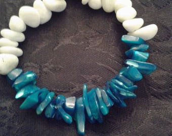 Getting ready for warm weather this little beauty just made by me, blue makes me think of the ocean.