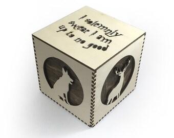 Lasercut Harry Potter Marauders Box