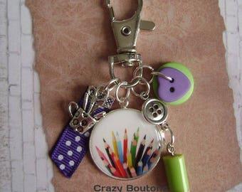 Keychain / bag key charm
