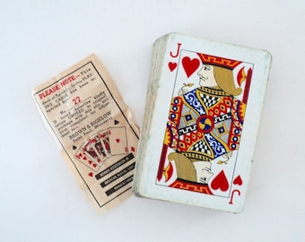 Brown & Bigelow 1947 Remembrance Advertising Playing Cards