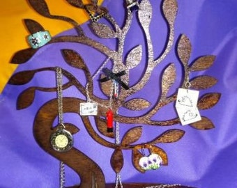 Jewelry tree stand Jewelry tree organizer Jewelry organizer stand Jewelry tree holder Jewelry tree display Jewelry organizer wall