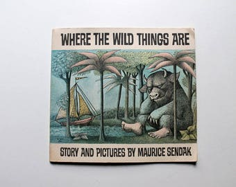 Where The Wild Things Are by Maurice Sendak 1969