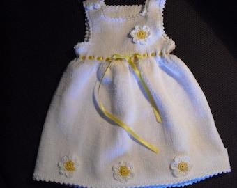 Christening gown, white