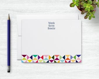 Note Cards Personalized Gifts for Her, Personalized Stationery Set, Blank Notecards, Custom Stationary Set, Cute Notecard Set Gift for Kids