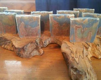Organic rosemary bergamot soap