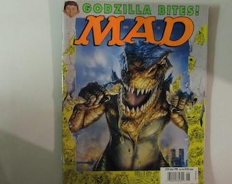 Mad Magazine, June 1998, Godzilla