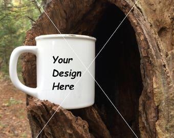 Coffee Mug Stock Photography in Nature
