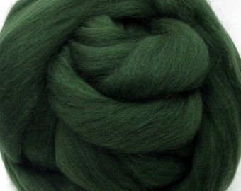 4 oz. Merino Wool Top - Sage Leaf - Ships Free