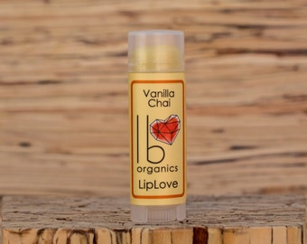 Vanilla Chai // Organic Lip Balm // tea lovers