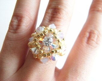 Dahlia Ring Tutorial TWR034
