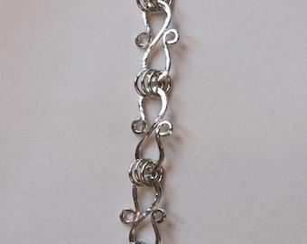 S-Link argentium silver bracelet