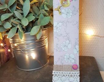 Large Hummingbird bookmark