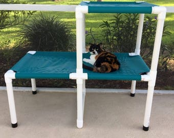 Cat Bunk Beds, Dog Window Beds, Dog Bed, Window Pet Beds, Custom Made Cat Beds, Choose Either Canvas Cover 15 Colors Or Mesh Cover 11 Colors