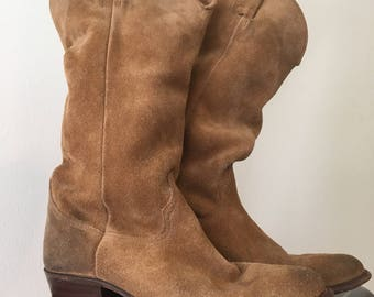 Suede Sendra Vintage Style Boots