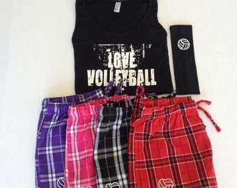 Love Volleyball Pajama Set