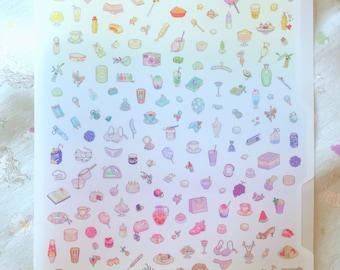 Matt-Regenbogen-Datei-Ordner mit Bitmapdreams Pixel-art