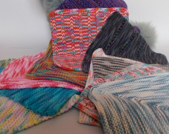 Multicoloured square cloths